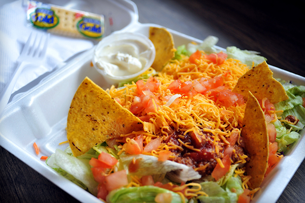 Wonderful Taco Salad!